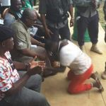 Prophetess storms President Mahama's campaign in Obuasi