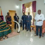 Keep selling Your Great Works and Debut performance to electorates -Otumfuo to John Mahama