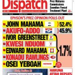 Ben Ephson's Presidential Opinion Polls Out.
