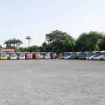 President Mahama presents vehicles to GPRTU