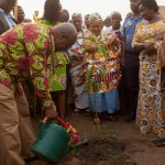 President Mahama cuts sod for 5 new hospitals