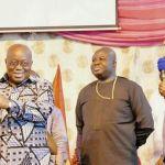 Owusu Bempah presents 'horn of strength' to Akufo-Addo