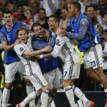 Cristiano Ronaldo hits hat-trick as Real Madrid down 10-man Bayern