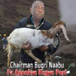 Bugri Naabu trolled on social media over goat and cows bribes