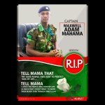 Government Releases Burial Arrangements For Major Maxwell Mahama