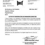 BOST Boss Alfred Obeng Boateng resigns