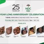 NDC celebrates Silver Jubilee