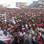 Hundreds attend NDC's 25th anniversary rally (Pictures + Video)