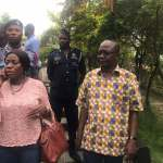 Minister of Tourism, Catherine Afeku's husband assaults chief at Palace with gun