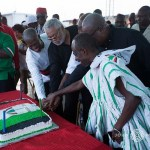 NDC @ 25: Rawlings, Mahama, Others Cut Cake (VIDEO)
