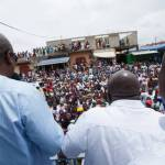 Thousands come to meet Former President Mahama at Chief Imam's office (Pictures +Videos)