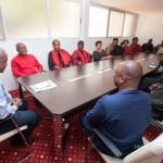 President Mahama Receives Family Of The Late Raymond Okudzeto (Pictures)