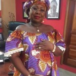 Pregnant Gifty Anti proudly displays growing baby bump