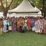 QUEEN MOTHERS FROM VOLTA REGION CALL ON FIRST LADY REBECCA AKUFO-ADDO