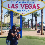 Van Vicker shares pictures from his Las Vegas birthday Vacation with his wife