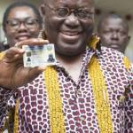 Akufo Addo to spend 1.22 billion dollars on national ID cards