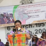 FIRST LADY LAUNCHES GIRLS' IRON AND FOLIC ACID SUPPLEMENTATION (GIFTS)  PROGRAMME