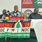 NDC press conference on re-registration, Branch Re-organisation & Internal Elections Timetable (...