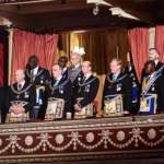 Kufuor, Asantehene attend Freemasons meeting in London