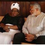 Rawlings meets widow of General Acheampong