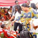 First Lady Dines With Princess Marie Hospital Patients