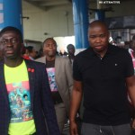 Dr. Tumi Arrives In Ghana For 'Kiss the King' Concert today (Pictures +Video)