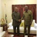 John Mahama congratulates George Tawlon Manneh Ousman Weah