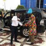 Zylofon Media gifts Blakk Rasta a brand new car