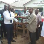David Vondee donates Nissan Pickup  to boost NDC reorganisation in Twifo Atti Morkwa Constituency