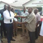David Vondee donates Nissan Pickup  to boost NDC reorganisation in Twifo Atti Morkwa Constituency