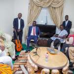 Tourism Minister Catherine Afeku and MUSIGA Executives visit Zylofon Media CEO (Pictures)