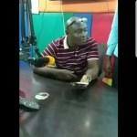 'Drunk' Kwaku Boahen dragged out of radio studio (Video)
