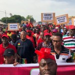 Massive demo in Tamale against US troops presence in Ghana