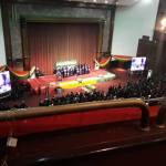 Thousands bid farewell as Amissah-Arthur rides home
