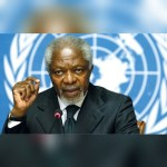 Rawlings mourns 'true gem' Kofi Annan