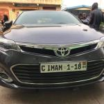 Bawumia gifts new Toyota car with customised plate to Chief Imam
