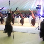 Tatale Cultural Troupe entertains children in Accra