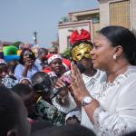 FIRST LADY FETES SCHOOL KIDS AT JUBILEE HOUSE