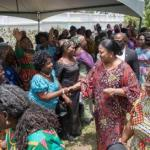 TOWARDS INTERNATIONAL WOMENS' DAY 2019  …FIRST LADY INTERACTS WITH MARKET WOMEN AND STREET VENDORS