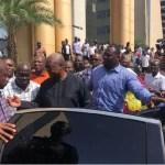 John Mahama causes stir in Kumasi