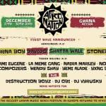 Shatta Wale, Stonebwoy, Alkaline, Davido, Wizkid, Kuami Eugene, Kidi, others for Afro Nation Ghana f...