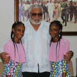 Separated conjoined twins express gratitude to Rawlings