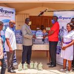 Coronavirus : Everpure Ghana Limited Supports Frontline Service Providers