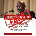 COVID-19: Akufo-Addo won't address the nation tonight - NPP