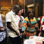 Pictures: NDC women celebrate ace journalist Mugabe Maase on his birthday