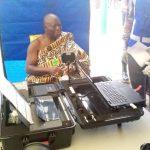 Asantehene Gets Voters' ID Card