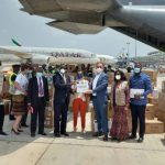 Ghana takes delivery of medical equipment, PPE for frontline workers