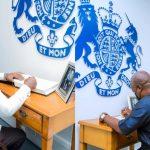 Akufo-Addo, John Mahama sign book of condolence for Prince Philip