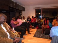 A cross-section of participants listening attentively to the 3R discussion.