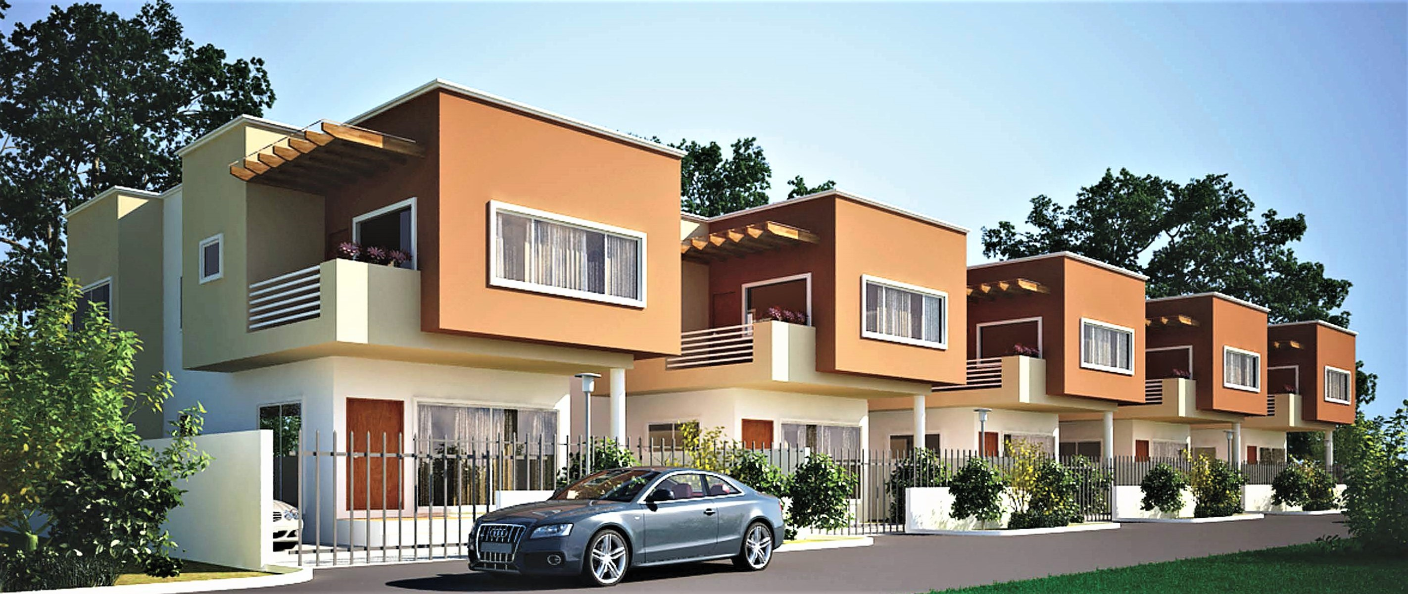 Premier Homes 3 Bedrooms Townhouse, Abelemkpe